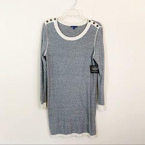 Gap Factory • Gray Sweater Dress Size Large